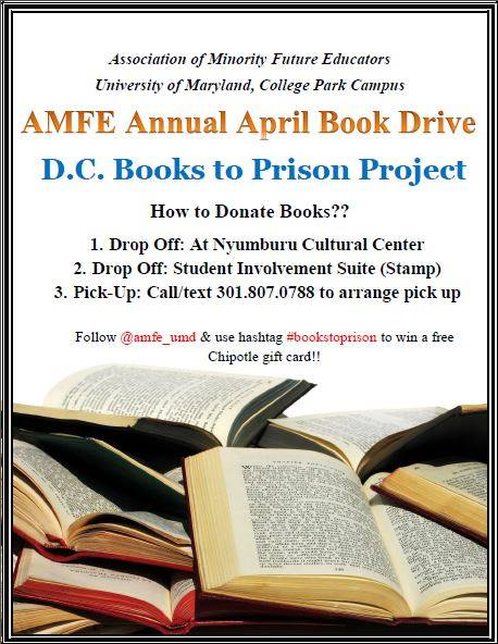 AMFE - D.C. Books2Prisons