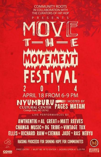 Community Roots event at Nyumburu Spring 2014