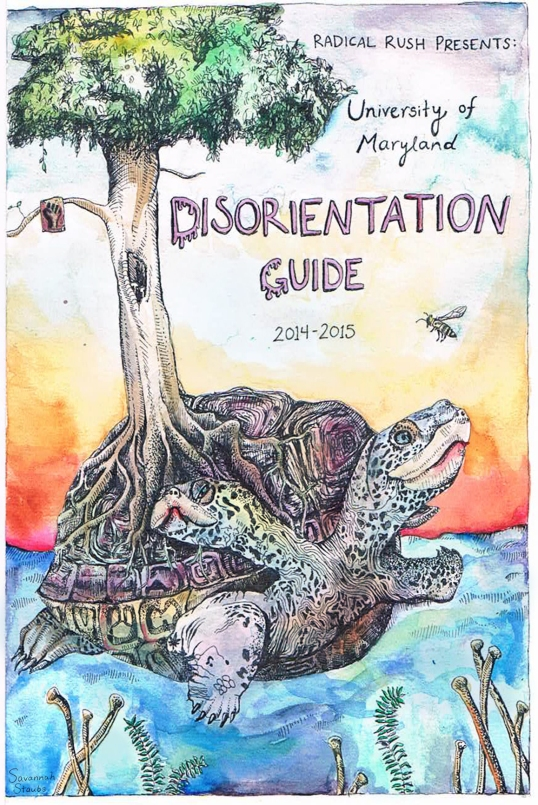 Disorientation Guide Cover by Savannah Staubs, 2014